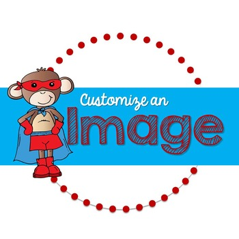Customization of an Image in Clipart