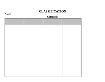 Customize Graphic Organizers