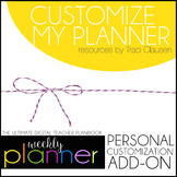 Customize My Planner