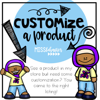 Customize a Product
