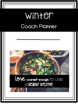 Customized 2019 WINTER Health Coaching Planner for MANDI HADLEY