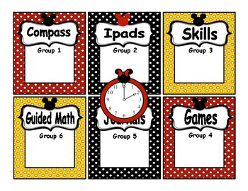 Customized Automated Reading/Math Rotation Station Powerpoint - Special 3