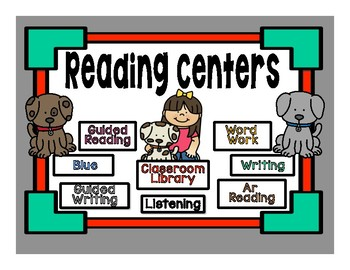 Customized Automated Reading/Math Rotation Station Powerpoint - 2
