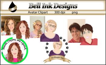 Customized Avatar Clipart