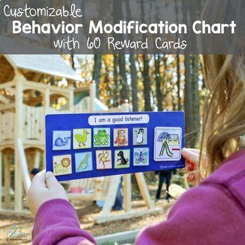 Reward Chart (Animal Token Board) - Customized Behavior Modification Chart