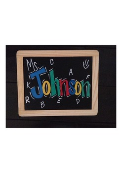 Customized Chalkboards