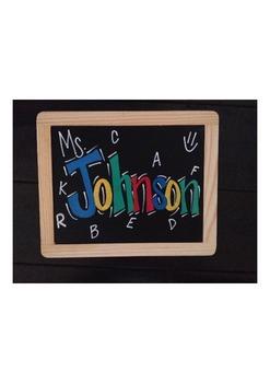 Customized Chalkboards