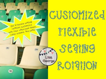 Customized Flexible Seating Rotation