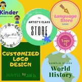 Customized Logo Design Brand Yourself! Attract more custom