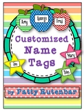 Customized Name Tags 2020