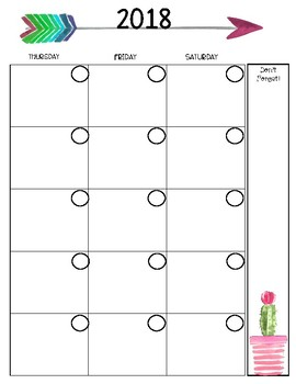 Customized Planner for Candice