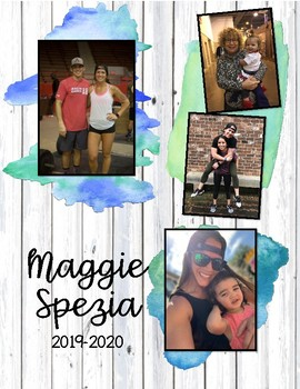 Customized Planner for Maggie