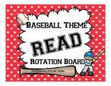 Customized Product! READ Rotation Board - Baseball Themed!