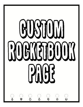 graphic relating to Rocketbook Printable Pages identified as Custom-made Sheets with Rocketbook technological know-how