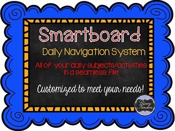 Customized Smartboard Navigation System
