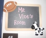 Customized Teacher Name Plates