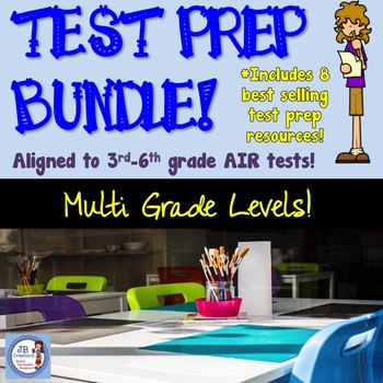 Customized Test Prep Bundle (aligned to 3-6 AIR test)