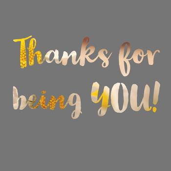 Customized Thank You Note or Good-Bye letter