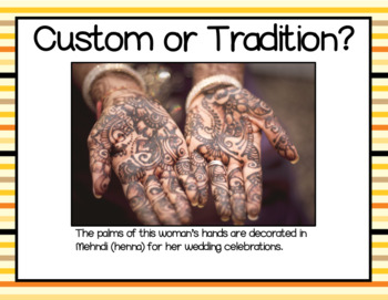 Understanding Customs and Traditions