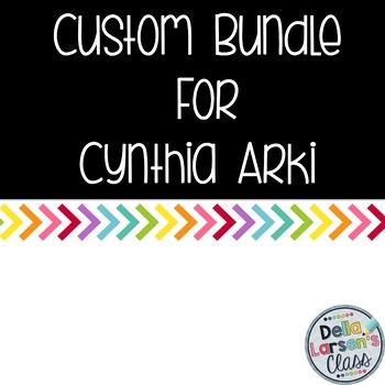Custum Bundle For Cynthia Arki