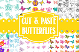 Cut And Paste Butterflies