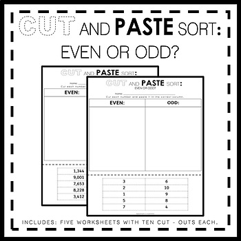 Cut And Paste Sort (Even or Odd?)