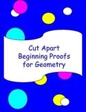 Cut Apart Beginning Geometry Proofs