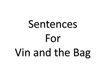 Cut Apart Sentences Kindergarten Reading Street Decodables Unit 6