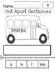 Cut Apart Sight Word Sentences - FREEBIE IN PREVIEW!