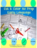 Cut & Color No Prep Early Language