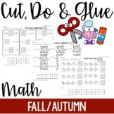 Cut, Do & Glue- Fall and Autumn Math