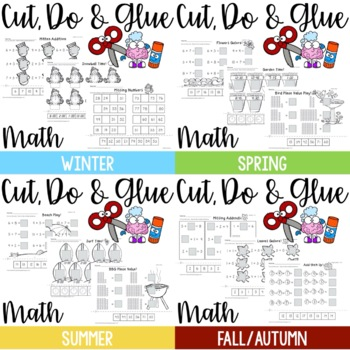 Cut, Do & Glue Seasons Bundle