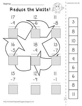 Cut, Do & Glue- Spring Math
