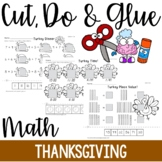 Cut, Do & Glue- Thanksgiving Math