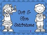 Cut & Glue Sentences