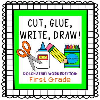 Dolch Sight Words activities {First Grade List}