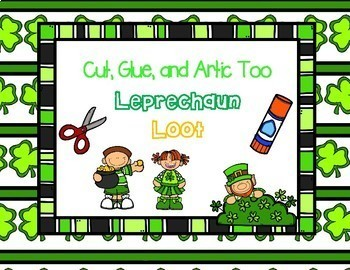 Cut, Glue, and Artic Too! Leprechaun Loot