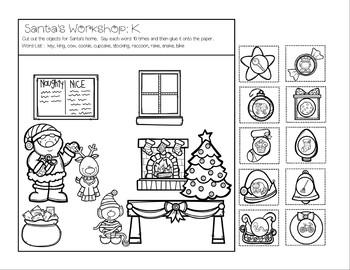 Cut, Glue, and Artic Too!   Santa's Workshop