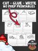Cut, Glue, and Write No Prep Printables BUNDLE