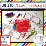 Cut & Go--Back to School Spatial Concepts Books for Speech