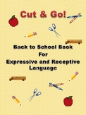 Cut & Go - Back to School Vocabulary Book