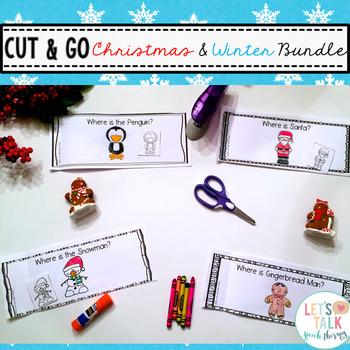 Cut & Go--Christmas /Winter Spatial Concept Books BUNDLE