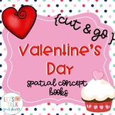 Cut & Go-- Valentine's Day Spatial Concept Books