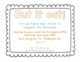 Cut It Out! Literacy Center for HMH National Journeys 2017