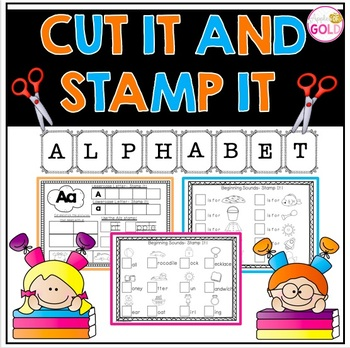 Cut It and Stamp It Alphabet Pack