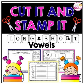 Cut It and Stamp It- Long and Short Vowel Pack