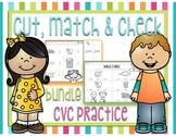 Cut, Match & Check - CVC Words BUNDLE
