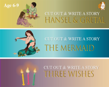 Cut Out And Write Fairy Tales: Pack 5 (6-9 years)