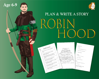 Cut Out And Write The Story Of Robin Hood (6-9 years)