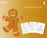 Cut Out And Write The Story Of The Gingerbread Man (6-9 years)